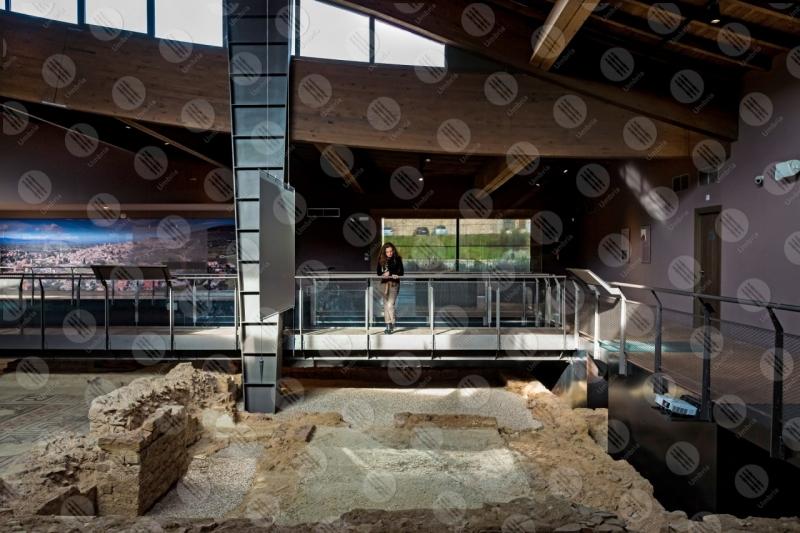 Villa dei Mosaici di Spello villa romana mosaici storia arte ragazza  Spello