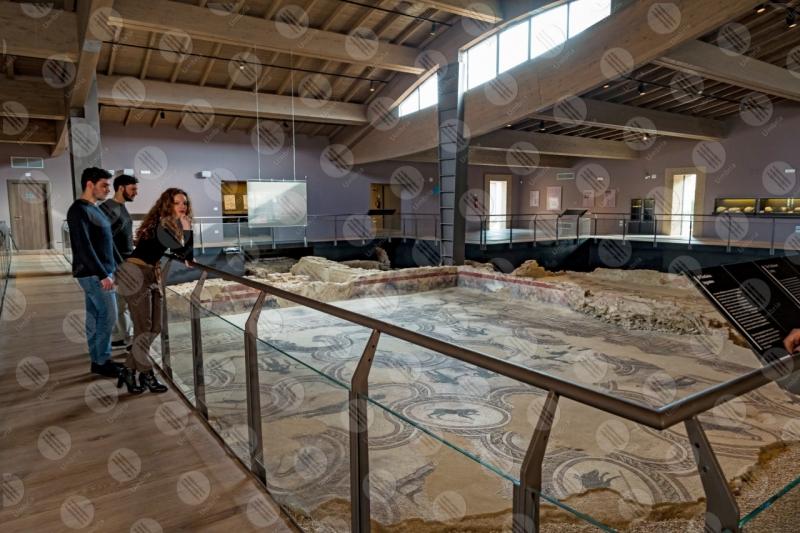 Villa dei Mosaici di Spello villa romana mosaici storia arte ragazzi  Spello