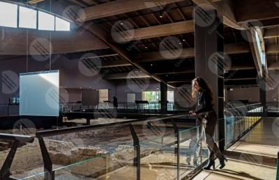spello Villa dei Mosaici di Spello villa romana mosaici storia arte ragazza