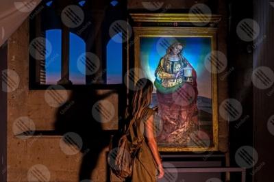 orvieto Santa Maria Maddalena del Signorelli Museo dell'Opera del Duomo dipinto colori arte donna ragazza