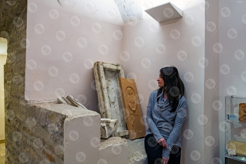 Museo Dinamico del Laterizio e delle Terrecotte terracotta stampo scultura donna ragazza  Marsciano