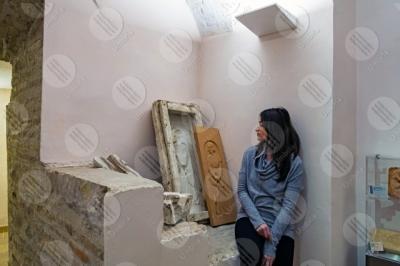 marsciano Museo Dinamico del Laterizio e delle Terrecotte terracotta stampo scultura donna ragazza