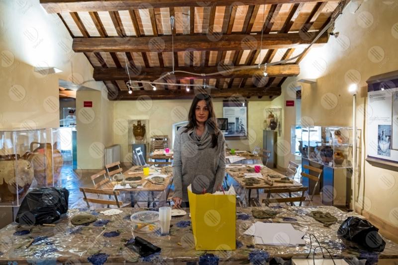 Museo Dinamico del Laterizio e delle Terrecotte terracotta terrecotte laboratorio bambini donna ragazza  Marsciano