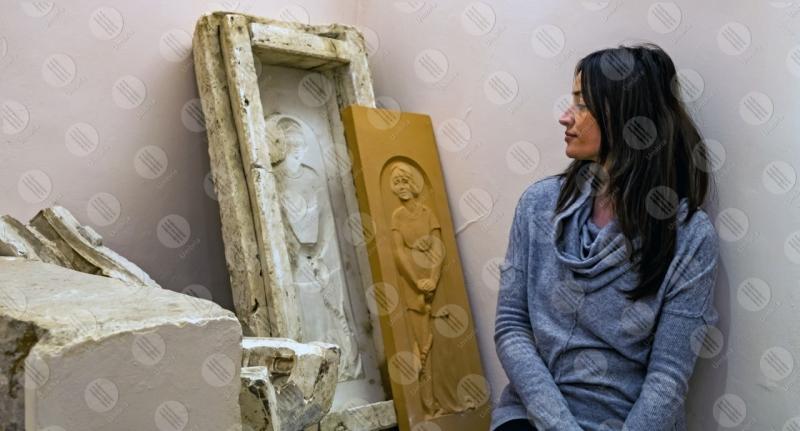 Museo Dinamico del Laterizio e delle Terrecotte terracotta stampo scultura donna ragazza dettagli particolari  Marsciano