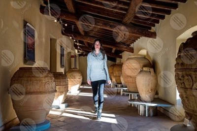 marsciano Dynamic Museum of Brick and Terracotta terracotta pottery jars vessels woman girl