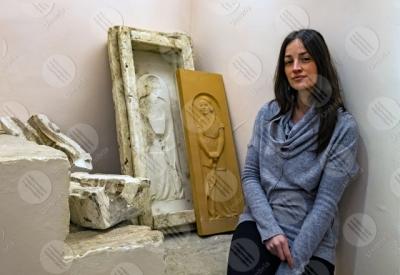 marsciano Museo Dinamico del Laterizio e delle Terrecotte terracotta stampo scultura donna ragazza dettagli particolari
