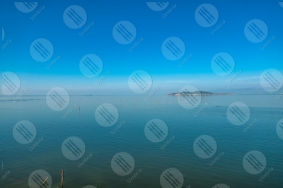 trasimeno Trasimeno Lake Polvese Island water sky clear sky panorama view landscape