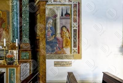 montefalco Convento di San Fortunato Benozzo Gozzoli paingings art