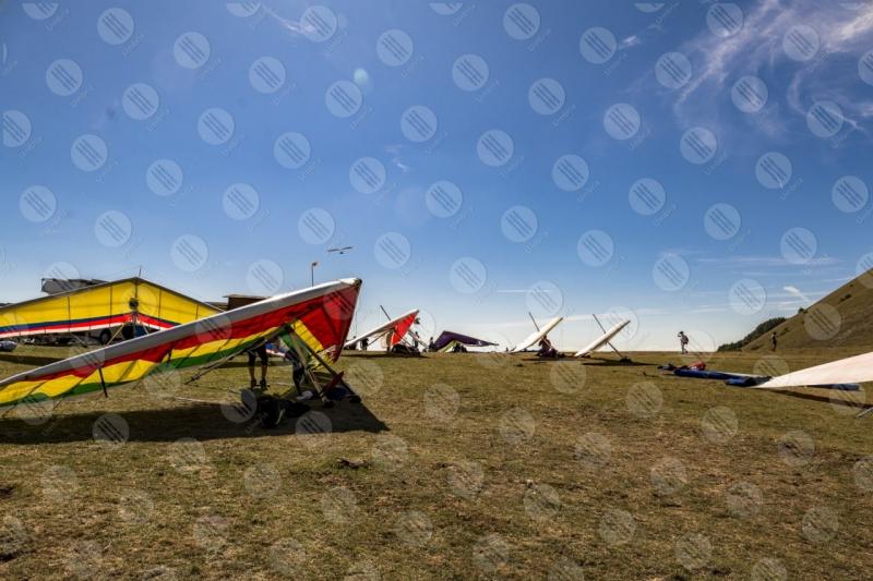 parco Monte Cucco deltaplano sport persone cielo  Eugubino - Altochiascio