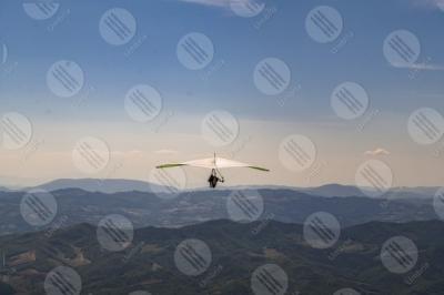 eugubino-altochiascio park Monte Cucco hang glider sport fly sky hills mountains view landscape