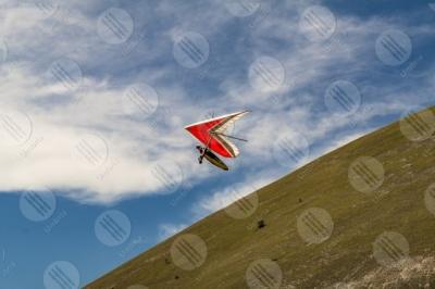 eugubino-altochiascio park Monte Cucco hang glider sport fly sky